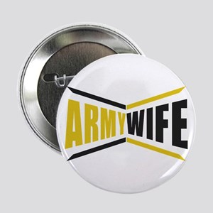 """Army Wife 2.25"""" Button"""