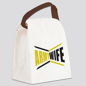 Army Wife Canvas Lunch Bag