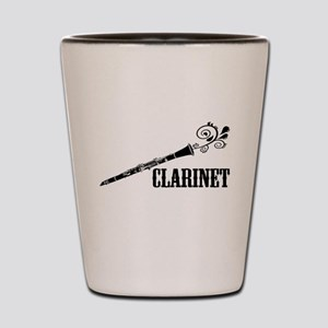Clarinet Vector Shot Glass