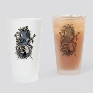 This is War Drinking Glass