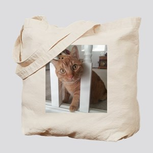 Banister Kitty Tote Bag