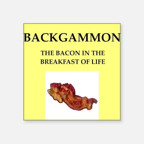 backgammon Sticker
