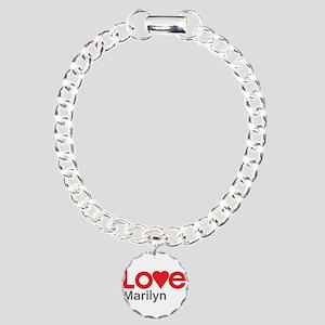 I Love Marilyn Bracelet