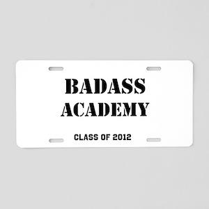 Badass Academy Lite Aluminum License Plate