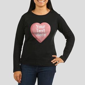 Candy Heart Long Sleeve T-Shirt