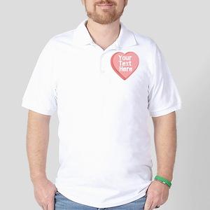 Candy Heart Golf Shirt