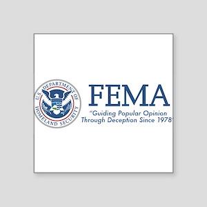 FEMA Popular Opinion Sticker