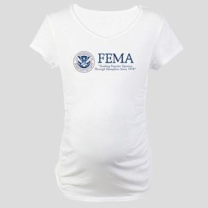 FEMA Popular Opinion Maternity T-Shirt