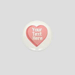 Candy Heart Mini Button
