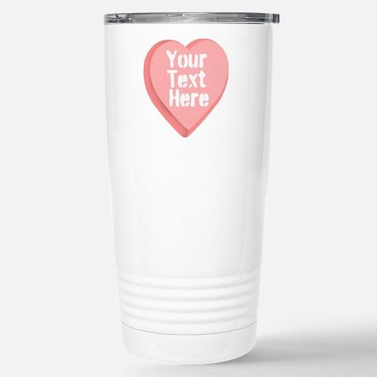 Candy Heart Travel Mug