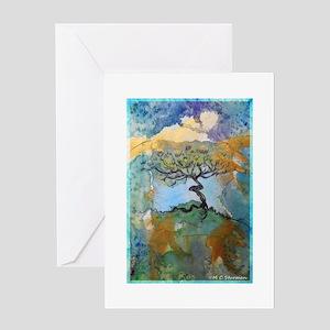 tree ! tree of life, art! Greeting Card