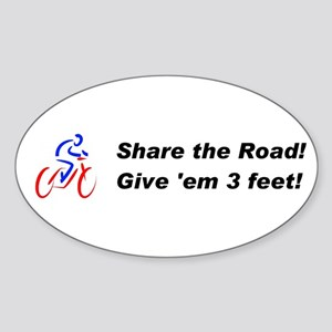Share the Road! Sticker