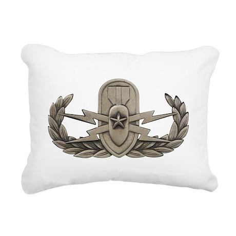 Senior EOD Rectangular Canvas Pillow