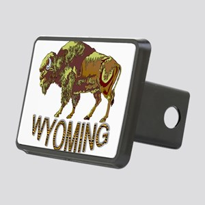 Wyoming state crest e3 Hitch Cover