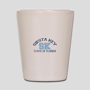 Siesta Key - Varsity Design. Shot Glass
