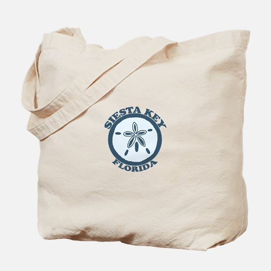 Siesta Key - Sand Dollar Design. Tote Bag