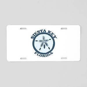 Siesta Key - Sand Dollar Design. Aluminum License