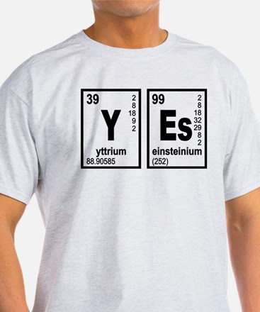 YEs Eelements Geeky T-Shirt
