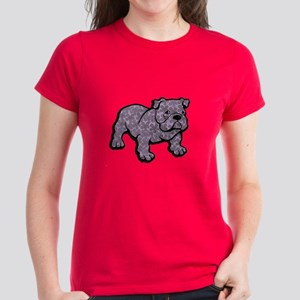 Flower bulldog T-Shirt
