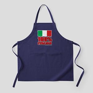 100% Italian Apron (dark)