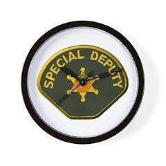Orange County Special Deputy Sheriff Wall Clock