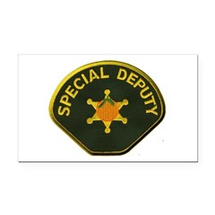 Orange County Special Deputy Sheriff Rectangle Car