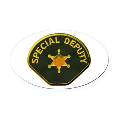 Orange County Special Deputy Sheriff Oval Car Magn