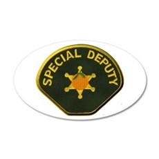 Orange County Special Deputy Sheriff Wall Decal