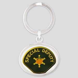 Orange County Special Deputy Sheriff Oval Keychain