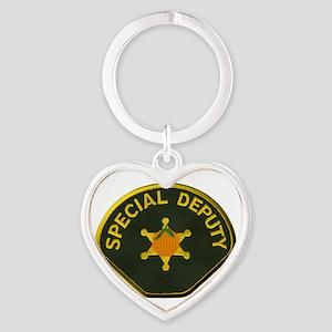 Orange County Special Deputy Sheriff Heart Keychai