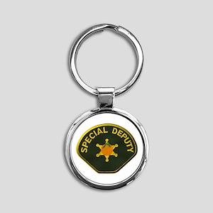 Orange County Special Deputy Sheriff Round Keychai