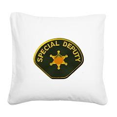 Orange County Special Deputy Sheriff Square Canvas