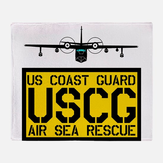 USCG Albatros Throw Blanket