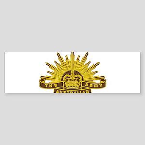 Australian Army badge e7 Bumper Sticker