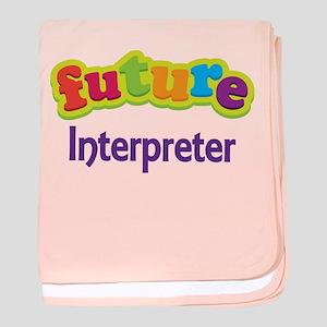 Future Interpreter baby blanket