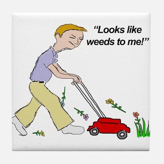 Weeds Tile Coaster