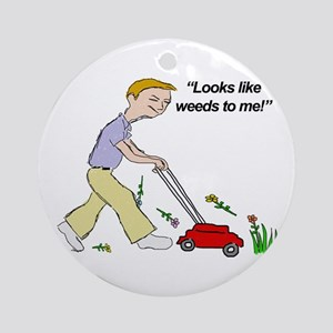 Weeds Ornament (Round)
