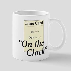 On The Clock Mug