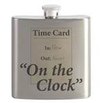 On The Clock Flask