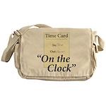 On The Clock Messenger Bag
