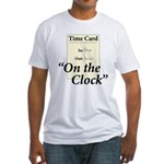 On The Clock Fitted T-Shirt