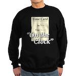 On The Clock Sweatshirt (dark)