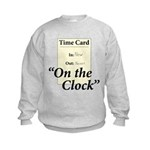 On The Clock Kids Sweatshirt