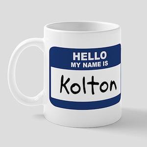 Hello: Kolton Mug