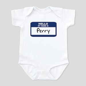 Hello: Perry Infant Bodysuit