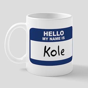 Hello: Kole Mug