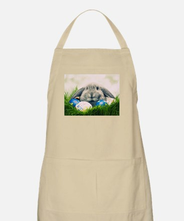 bunny and eggs Apron