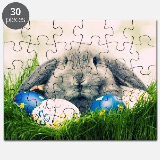 bunny and eggs Puzzle