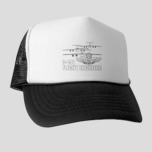 C-141 Flight Engineer.png Trucker Hat