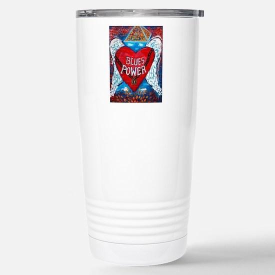 Blues Power Travel Mug